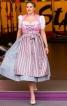 Сукня з високим коміром і фартухом - фото 1
