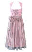 Сукня з високим коміром і фартухом - фото 2