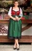 Сукня з ліфом-корсажем і фартухом - фото 1