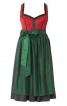 Сукня з ліфом-корсажем і фартухом - фото 2