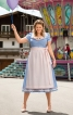 Сукня і фартух в баварському стилі - фото 1