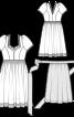 Сукня і фартух в баварському стилі - фото 3