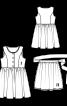Сукня з фартухом в етно-стилі - фото 3