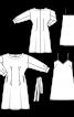 Сукня приталеного крою і нижня сукня - фото 3