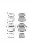 Сукня з пишною спідницею і відкладним коміром - фото 5