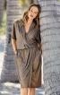 Сукня з ефектом запаху і топ на бретелях - фото 1
