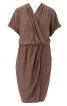Сукня з ефектом запаху і топ на бретелях - фото 2