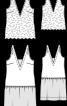 Сукня з мереживним топом - фото 3