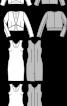 Жакет болеро і обтисла сукня-футляр - фото 3