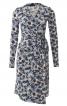 Сукня відрізна із запахом і поясом-зав'язкою - фото 2