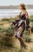 Сукня приталеного крою з рукавами-розтрубами - фото 1