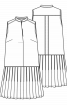 Сукня з плісированою спідницею - фото 3