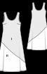 Сукня максі розкльошеного крою - фото 3