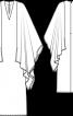 Сукня з широкими рукавами - фото 3