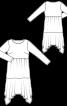 Сукня максі трикотажна - фото 3