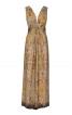 Сукня довга з переплетеними зав'язками - фото 2
