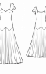 Довга сукня, що підкреслює фігуру - фото 3