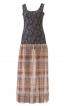 Сукня з трикотажним верхом і довгою спідницею - фото 2