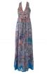 Довга сукня з пластроном - фото 2