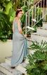 Сукня максі з широкою спідницею з клинами годе - фото 4