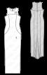 Сукня вечірня вузького крою - фото 3