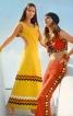 Сукня довга з фігурними вирізами - фото 2