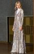 Сукня максі приталеного крою - фото 1