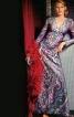 Сукня максі приталеного крою - фото 2