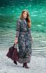 Сукня максі з розкльошеною спідницею - фото 1