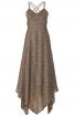 Сукня в стилі 70-х з асиметричним низом - фото 2