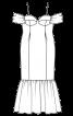 Сукня-бюстьє силуету «русалка» - фото 3