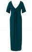Сукня максі силуету ампір з драпіровками - фото 2