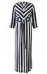 Сукня-максі з V-подібним вирізом - фото 2