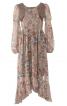 Сукня з пишною асиметричною спідницею - фото 2