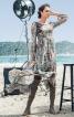 Сукня з пишною асиметричною спідницею - фото 1
