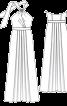 Сукня максі з відкритою спиною - фото 3