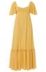 Сукня максі силуету ампір з рукавами-крильцями - фото 2