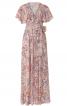 Сукня максі в стилі 70-х з воланами на ліфі - фото 2