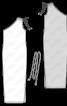 Сукня довга трикотажна на одне плече - фото 3