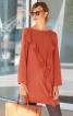 Сукня міні з воланами на переді - фото 1