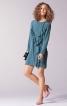 Сукня коротка з воланами на переді - фото 1