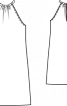 Сукня коротка з американською проймою - фото 3