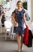 Сукня міні з настроченим воланом - фото 1