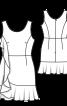 Сукня міні відрізна приталеного крою - фото 3