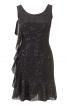 Сукня міні відрізна приталеного крою - фото 2