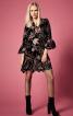 Сукня прямого крою з пишними оборками - фото 1