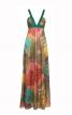 Сукня силуету ампір з контрастними бретелями - фото 2