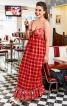 Сукня силуету ампір на бретелях - фото 1