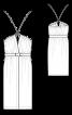Сукня з відкритими плечима в стилі Dries Van Noten - фото 3