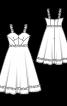 Сукня-корсаж із парчі - фото 3